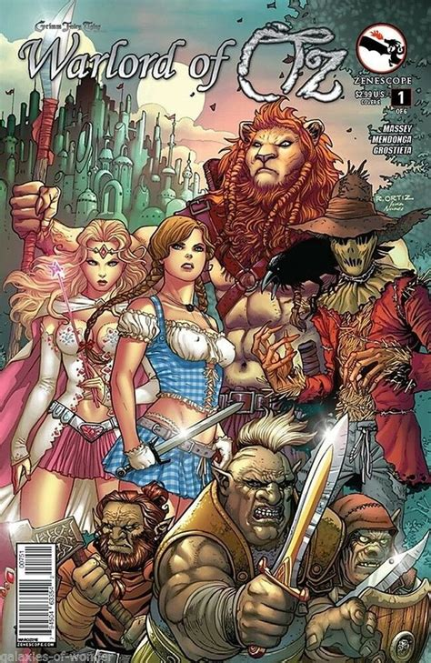 Grimm Fairy Tales Presents: Warlord of Oz #1 (1E cover