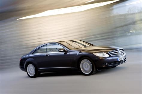 2008 Mercedes CL500 4MATIC Review - Top Speed