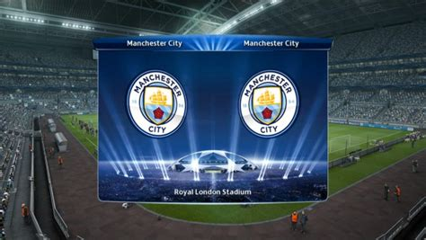 PES 2013 Man City + New Logo 2016-17 by Vulcanzero - PES Patch