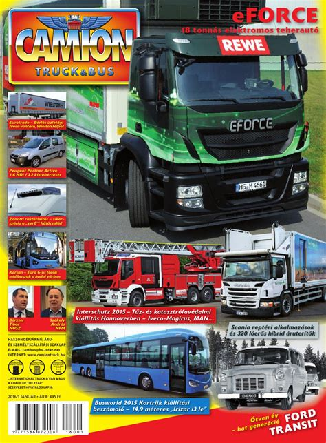 Camion Truck&Tus magazin 2016 01 by Camion Truck&Bus