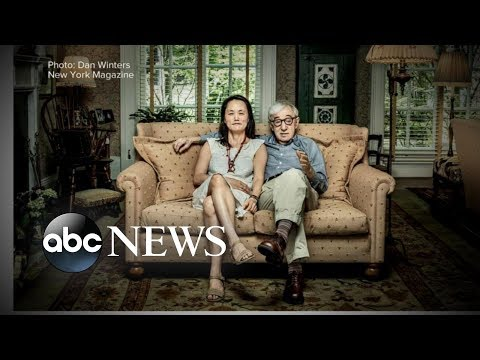 Woody Allen marries Soon-Yi Previn in Italy in 1997 - NY