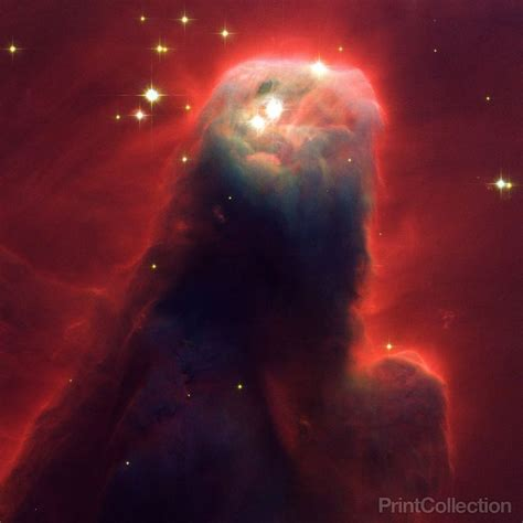 Print Collection - Visible-Light Image of the Cone Nebula