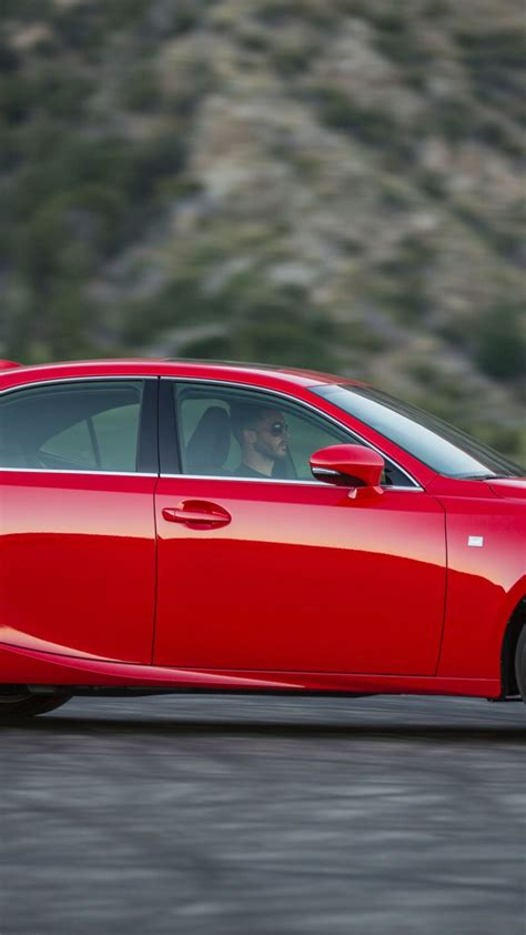 Wallpaper Lexus is200 T supercar, luxury cars, red, test