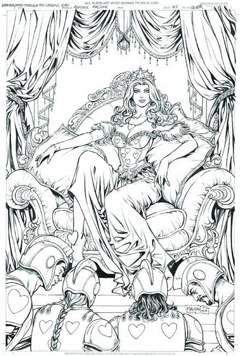Grimm Fairy Tales Presents Wonderland: Through the Looking