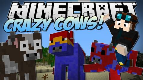 Minecraft | CRAZY COWS! (Flying Cows, Exploding Cows Ender