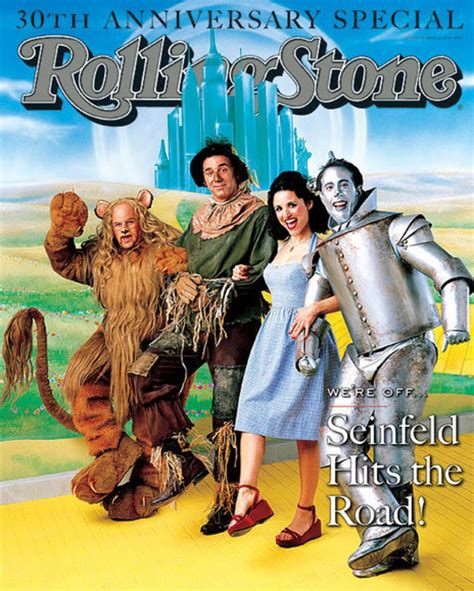 The Cast of 'Seinfeld'   TV on the Cover of Rolling Stone