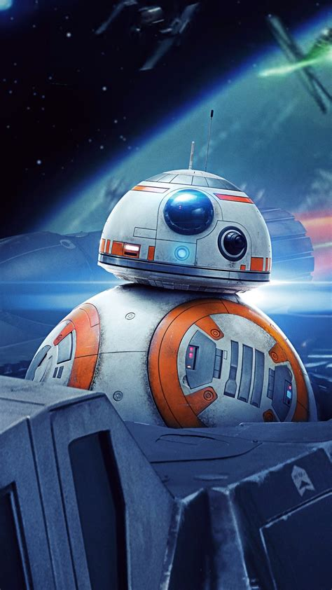 Wallpaper Star Wars, BB8 robot, spaceship 3840x2160 UHD 4K