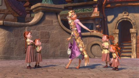 Tangled screenshots