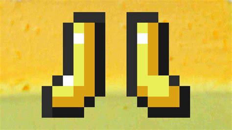 Golden Butter Shoes (Minecraft) - YouTube