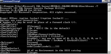 SQL Server 2012 Command Line Utilities — DatabaseJournal