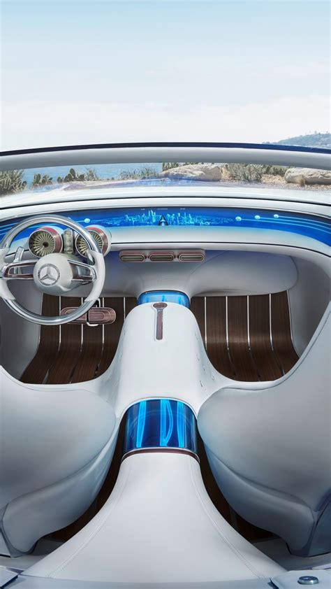 Wallpaper Mercedes-Maybach 6, electric cars, interior, 4k